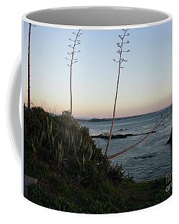 California At Twilight Coffee Mug by Mini Arora