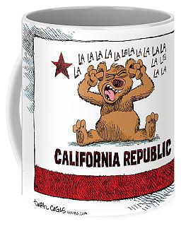 California Budget La La La Coffee Mug