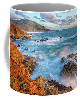 California Coast In Spring Coffee Mug