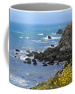 California Coast Coffee Mug by Laurel Powell
