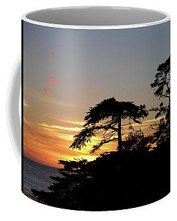 California Coastal Sunset Coffee Mug
