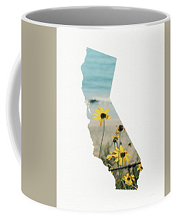 Coffee Mug featuring the mixed media California Dreams Art By Linda Woods by Linda Woods