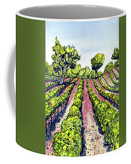 California Grape Vineyard Coffee Mug