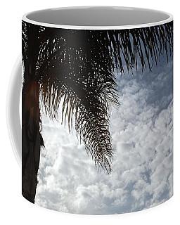 California Palm Tree Half View Coffee Mug