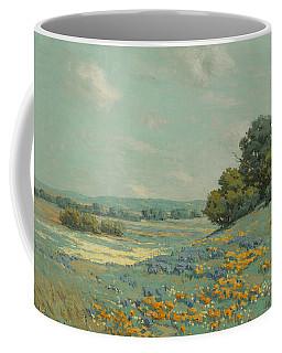 California Poppy Field Coffee Mug