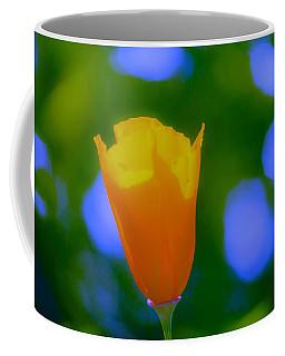 Coffee Mug featuring the photograph California Poppy by Sherri Meyer
