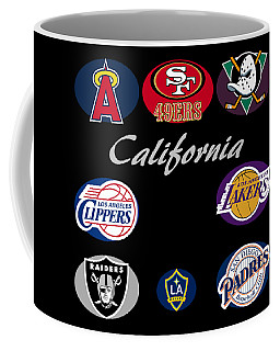 California Professional Sport Teams Collage  Coffee Mug