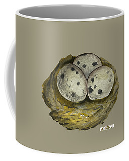 California Quail Eggs In Nest Coffee Mug