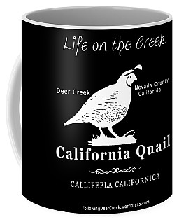 California Quail - White Graphics Coffee Mug