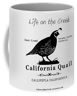 California Quail - White Coffee Mug