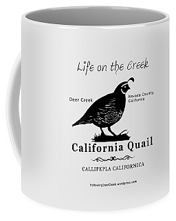 California Quail - White Coffee Mug