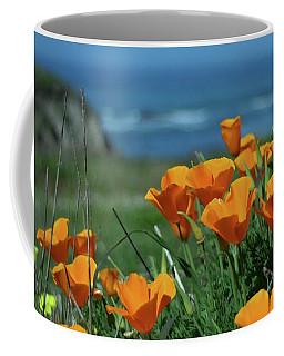 California State Flower - The Poppy Coffee Mug