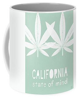 California State Of Mind- Art By Linda Woods Coffee Mug