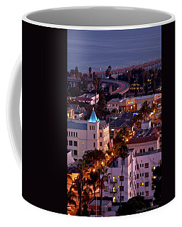 California Street At Ventura California Coffee Mug