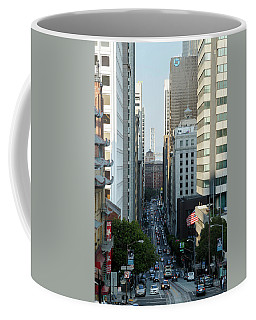 California Street San Francisco Coffee Mug