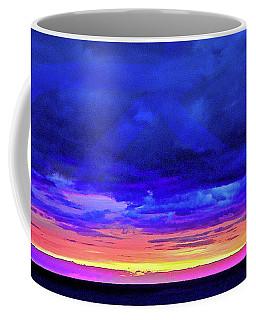 Coffee Mug featuring the painting California Sunrise by Joan Reese