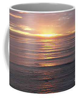 Coffee Mug featuring the photograph California Sunset by Carol  Bradley