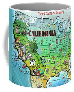 California Usa Coffee Mug