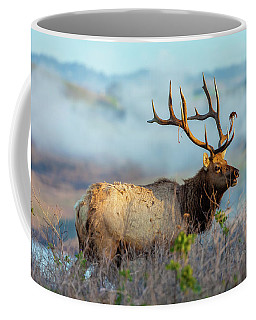 Coffee Mug featuring the photograph Call Of The Elk by Jonathan Nguyen
