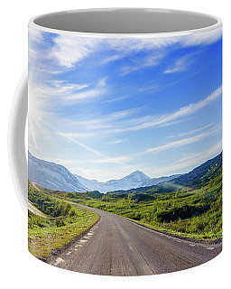 Coffee Mug featuring the photograph Call Of The Road by Dmytro Korol