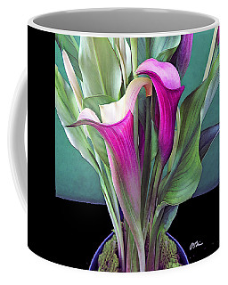 Calla Deco Coffee Mug
