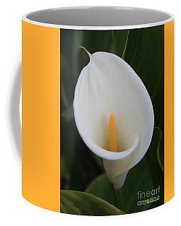 Perfect White Calla  Coffee Mug