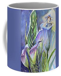 Calla Lily Fairy Coffee Mug by Mindy Newman