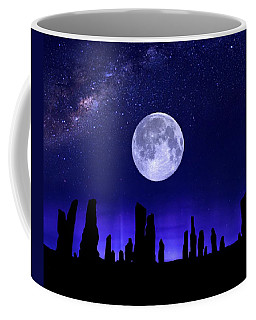 Callanish Stones Under The Supermoon.  Coffee Mug