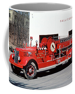 Callicoon Volunteer Fire Dept, New York State Coffee Mug