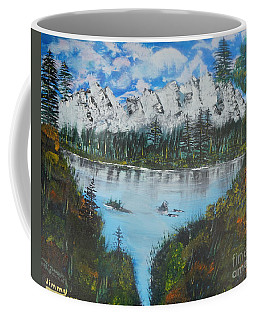 Calm Lake Coffee Mug