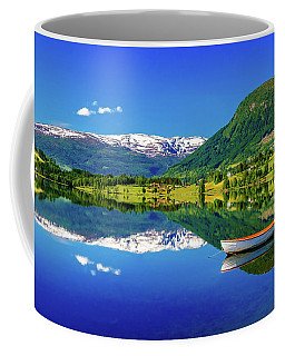 Calm Morning On Lonavatnet Coffee Mug