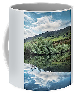 Calm Pond - Cloud Reflections II Coffee Mug