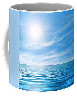 Calm Seascape Coffee Mug by Carlos Caetano