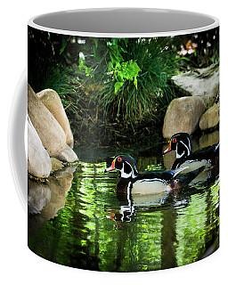 Calm Waters - Wood Ducks Coffee Mug