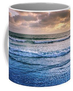 Coffee Mug featuring the photograph Calming by Alison Frank