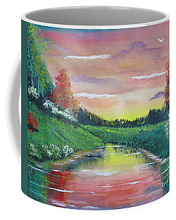 Calming Sunset Coffee Mug