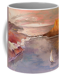 Calpe At Sunset Coffee Mug