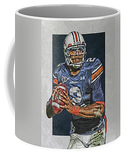 Cam Newton Auburn Tigers Art Coffee Mug