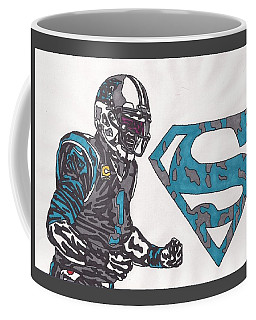 Cam Newton Superman Edition Coffee Mug
