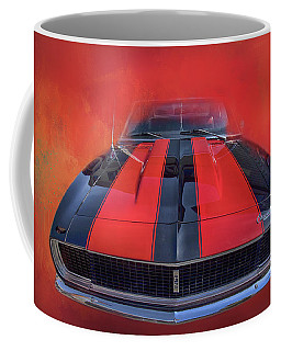 Coffee Mug featuring the photograph Camaro - Forged By Fire by Theresa Tahara