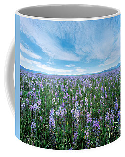 Camas Blue Coffee Mug by Leland D Howard