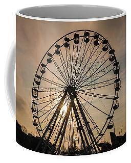 Cambridge Big Wheel Coffee Mug by David Warrington