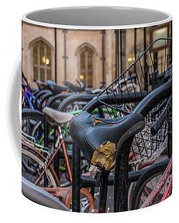 Cambridge Bikes Coffee Mug by David Warrington