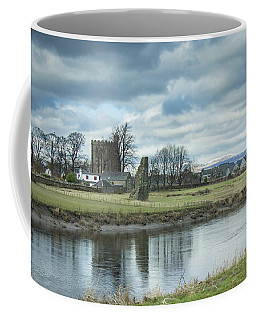 Coffee Mug featuring the photograph Cambuskenneth Abbey And The River Forth by RKAB Works