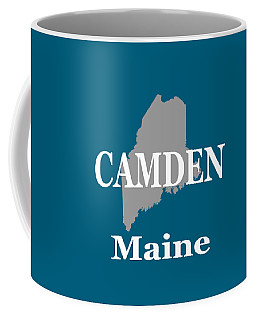 Coffee Mug featuring the photograph Camden Maine State City And Town Pride  by Keith Webber Jr
