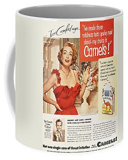 Camel Cigarette Ad, 1951 Coffee Mug