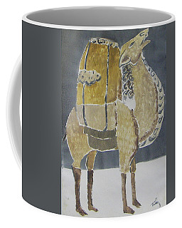 Camel Facing Right Coffee Mug
