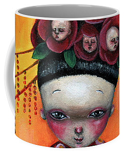 Camellia And Friends Coffee Mug