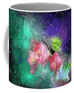 Camellias In A Galaxy Far Far Away Coffee Mug