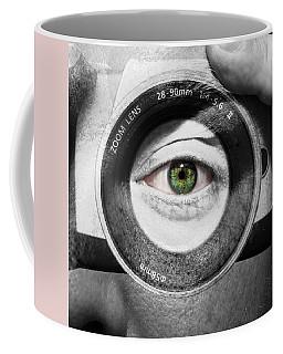 Camera Face Coffee Mug by Semmick Photo